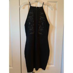 Guess black cocktail dress